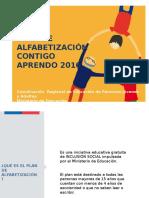 Plan de Alfabetización 2016 Monitores Pre Seleccionados