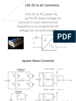 Dc to Ac Converters