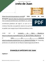 El Libro Secreto de Juan – ¿Jesús, Es El Cristo