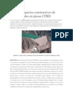 Diseño y Aspectos Constructivos de Muros Colados en Presas CFRD