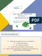 Mediator Training - Module 3