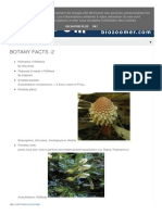 Botany Facts