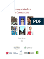 Survey of Muslims in Canada 2016 - Final Report