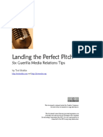 Landing the Perfect Pitch