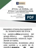 Separata 1 La Etica, La Moral y La Deontologia