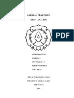 Laporan Asidimetri ITP 09-10