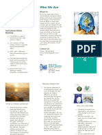brochure global warmiong