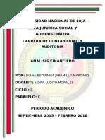 Concepto de Un Informe Financiero