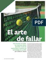 2 - Osorio HBR El Arte de Fallar