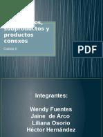 Coproductos, Subproductos y Productos Conexos