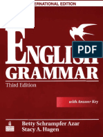 Betty Azar Understanding And Using English Grammar Third Edition