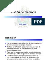 10 Gestion de Memoria