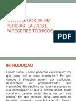 O Estudo Social Em Pericias, Laudos e Pareceres Técnicos