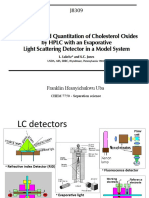 evaporative light scattering detector