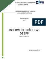 Informe de Prácticas de Sap 2000