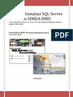Instalasi SQL Server 2000 Dan SIMDA BMD