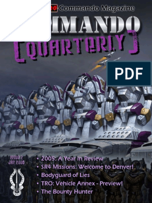 Battletech - Fanpro - Fanpro Commando Quarterly #02
