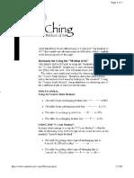 i Ching--method of 64