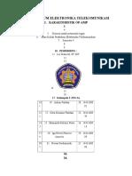 Praktikum Elektronika Telekomunikasi Op-Amp