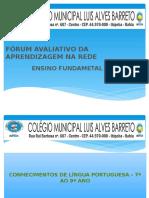 FÓRUM AVALIATIVO DA APRENDIZAGEM NA REDE.pptx