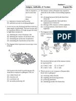 antigens antibodies and vaccines