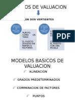 Modelos de Valuacion Para Diseño de Cargos
