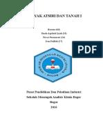 Makalah PKT (Analisis Total Minyak Atsiri dan Tanah)