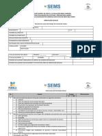 Lista de Cotejo Evaluación Orientación BGE