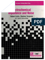Electrochectrochemical Impedance and Noisemical Impedance and Noise