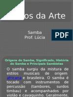[Trabalho de Arte - Samba