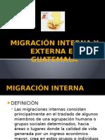 Migración Interna y Externa en Guatemala