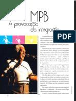 MPB A provocação da integração