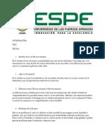 ASPECTOS REELEVANTES DE MICROECONOMIA-ESPE
