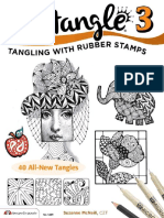 Zentangle 3 - Tangling With Rubber Stamps