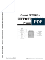 Control Fpwin Pro Fp0fp1fp–m Programming - Acgm0130v3.2end