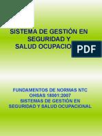 Diplomado en Seguridad y Salud Ocupacional 2