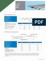 Paneles Especiales Perfil Ondulado y Perfil de Galvalume IPAC
