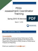 pssa administration training