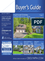 Coldwell Banker Olympia Real Estate Buyers Guide April 30th 2016