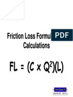 1B 3 8 Friction Loss Formulas Calculations