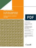 Collectivites sous pression Le role des cooperatives et de leconomie sociale