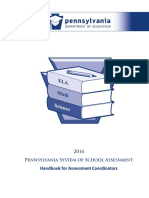 pssa handbook for assessment coordinators
