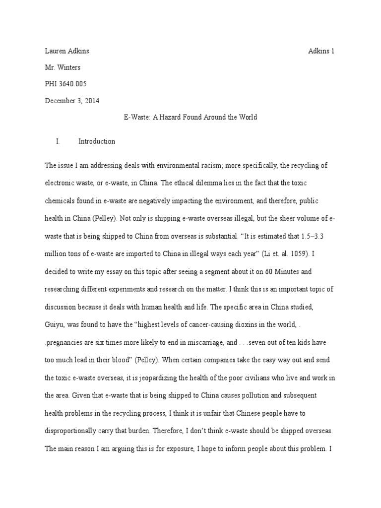 Essays about obesity in children