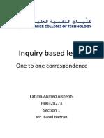 inquiry based lesson