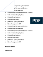 Clinic Management System project report.docx.docx