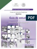 Guía de estudio para Química, Para examen de Oposición 2016-2017.