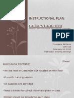 instructional plan
