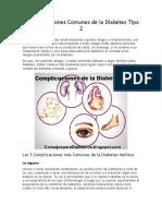 5 Complicaciones Comunes de La Diabetes Tipo 2