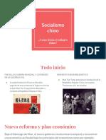 Socialismo Chino