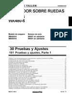 Pruebas y Ajustes WA470-6